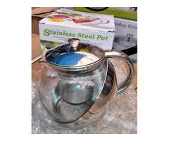 Чайник-заварник (пресс
